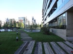 Finales del proyecto de exteriores y ambientación del Condominio 3, en Rosario